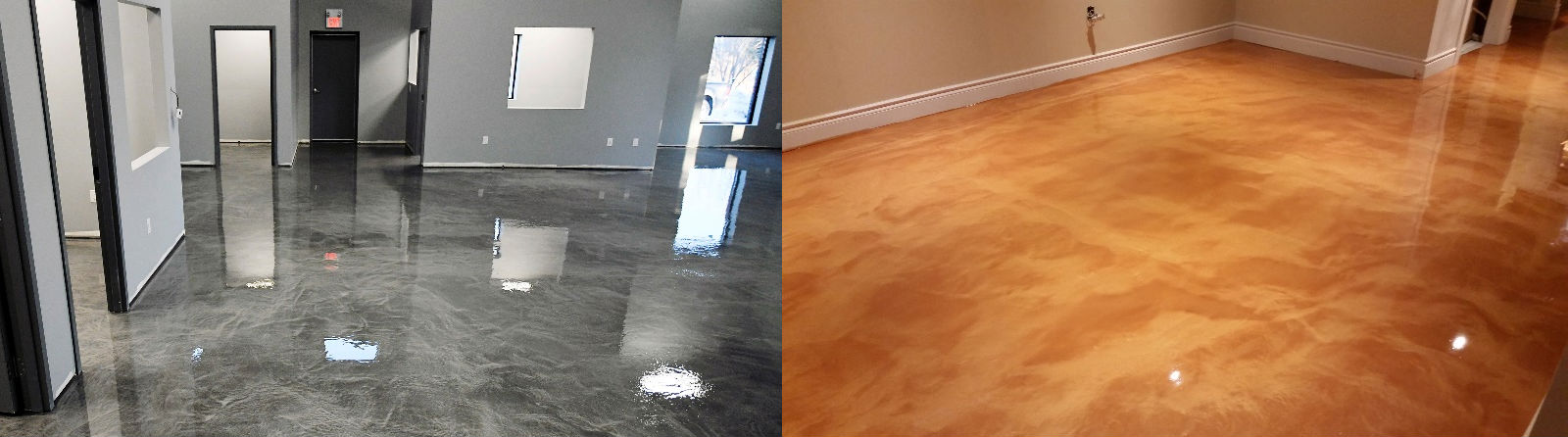 diy epoxy floor metallic installation guide