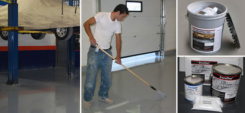 Commercial Garage Floor Coating Protection, Ontario, Canada